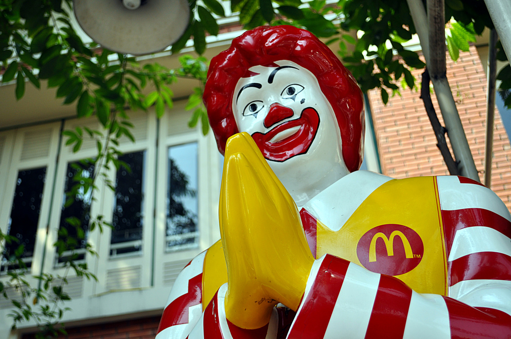 Zgwałcony w fast foodzie