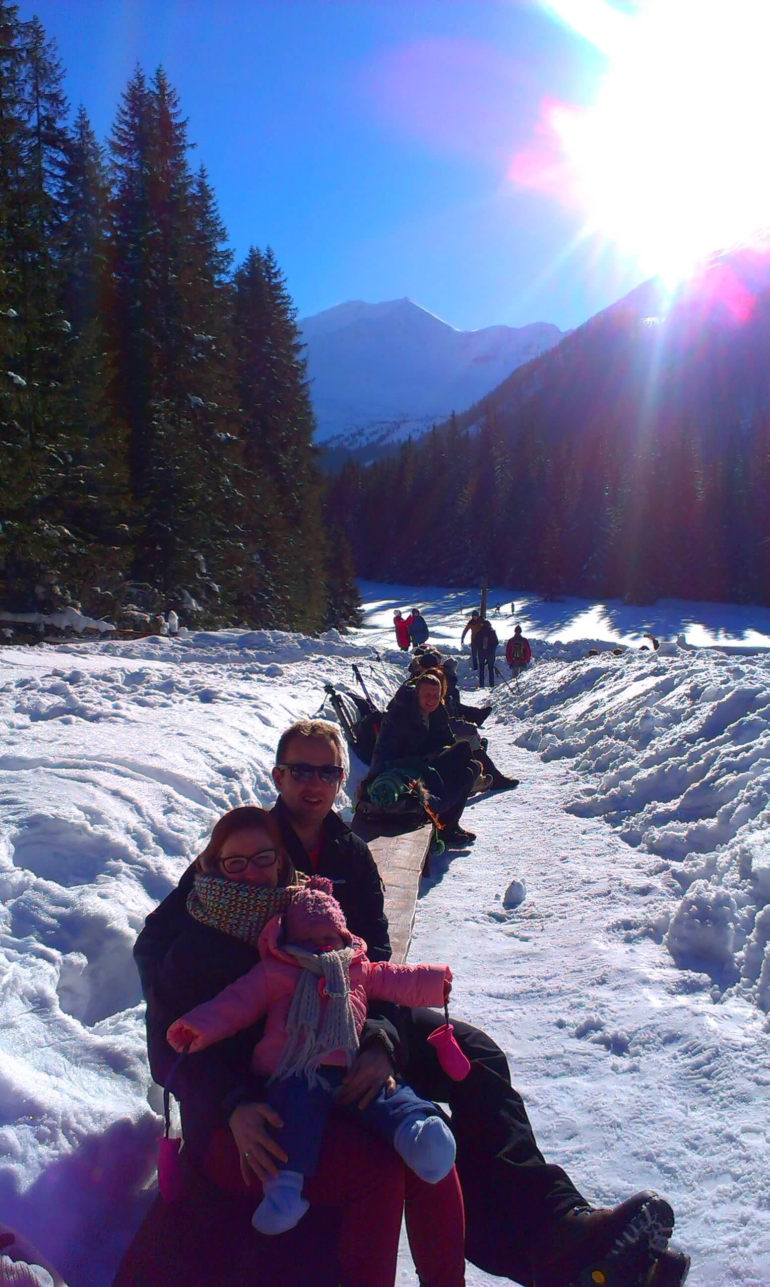 Z niemowlakiem w góry zimą