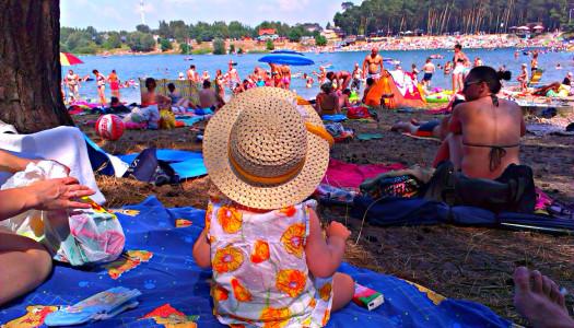 Siusiaki, siusiaczki i letnie sesje fotograficzne małych dzieci