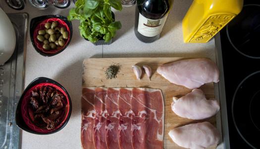 """Kurczak serrano, czyli noworocznym dietom mówię """"NIE"""""""