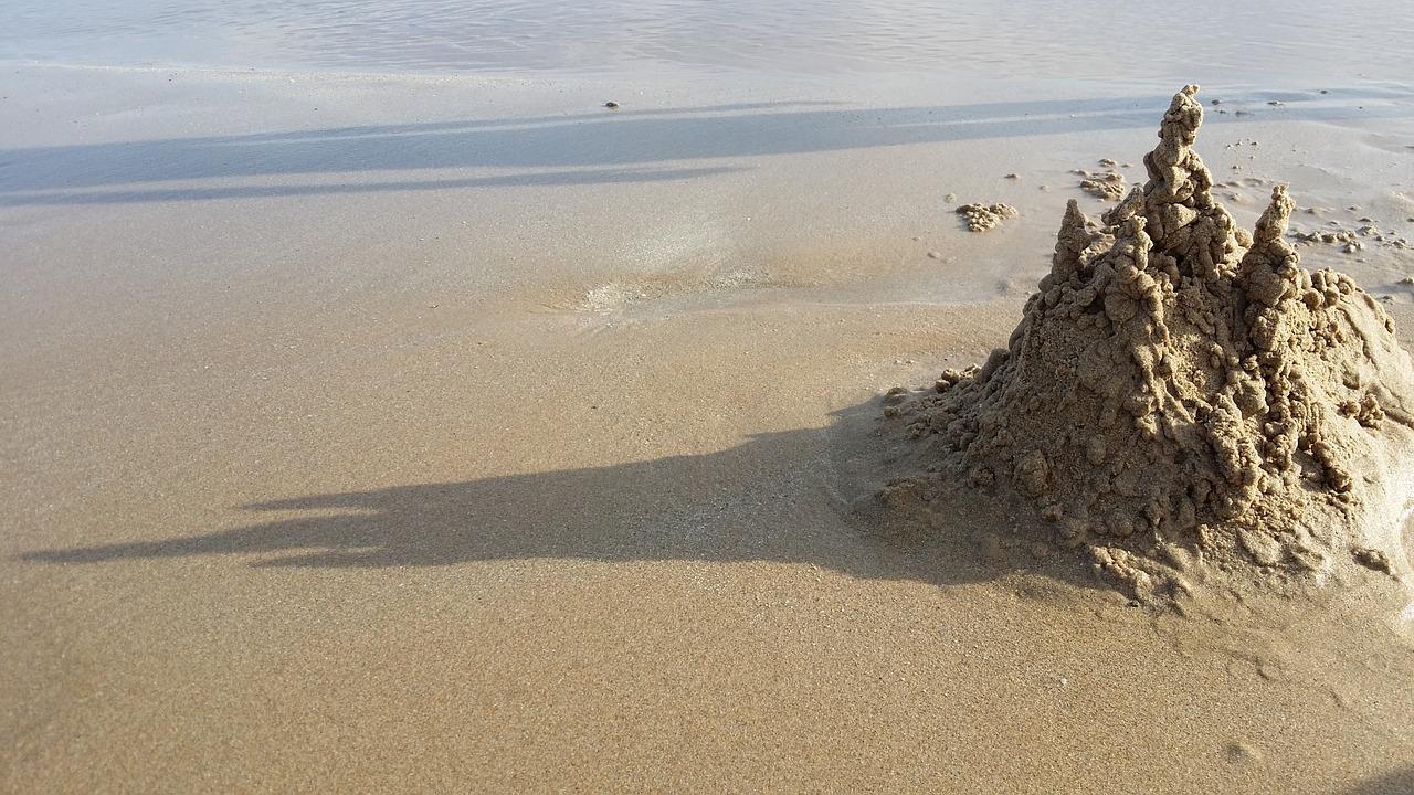zamek z piasku