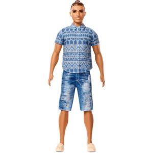 Ken Fashionistas modny ken wzór fnj38