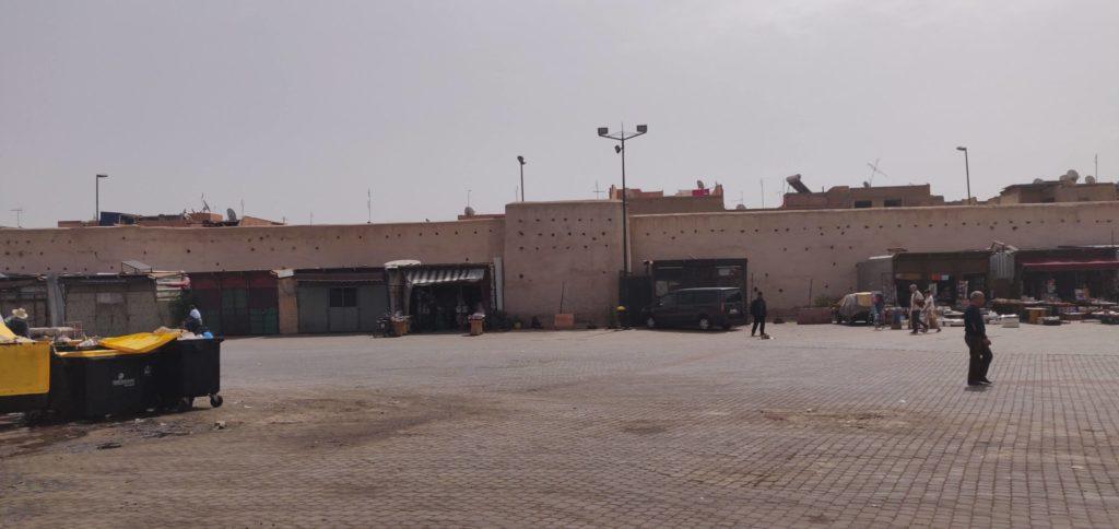 plac w centrum marrakeszu